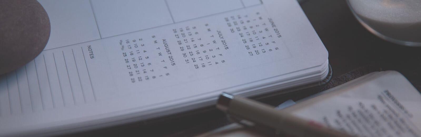 Das Kalendermodul konfigurieren
